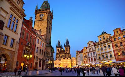 Old Town Square in the Czech Republic. Photo via Flickr:Moyan Brenn