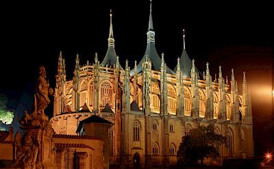 Gothic St Barbara Cathedral in Kutná Hora, Central Bohemian Region, Czech Republic. CC:Jerzy Strzelecki