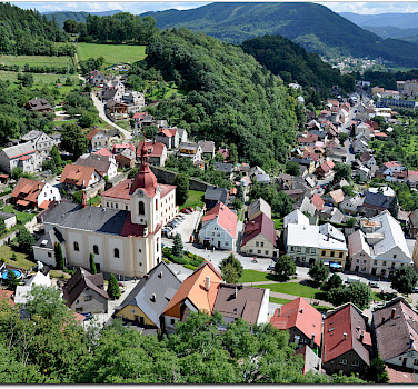 Stramberk in the Moravian-Silesian Region of the Czech Republic. Photo via Flickr:Janos Korom Dr.
