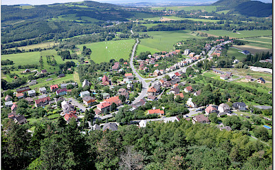 Aerial view of Stramberk in the Moravian-Silesian Region of the Czech Republic. Photo via Flickr:Janos Korom Dr.
