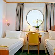 Promenade deck room