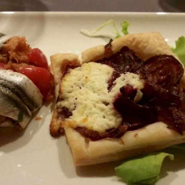 Fabulous dinner on the Ava Maria