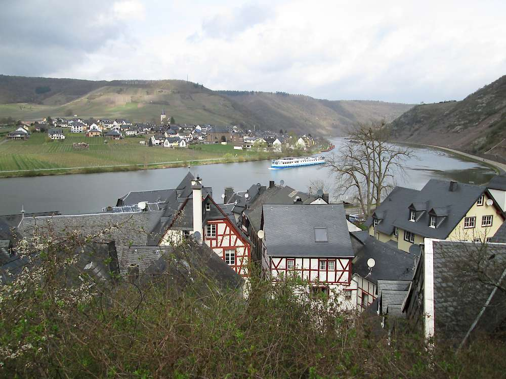 Bike and Barge on the Mosel River.