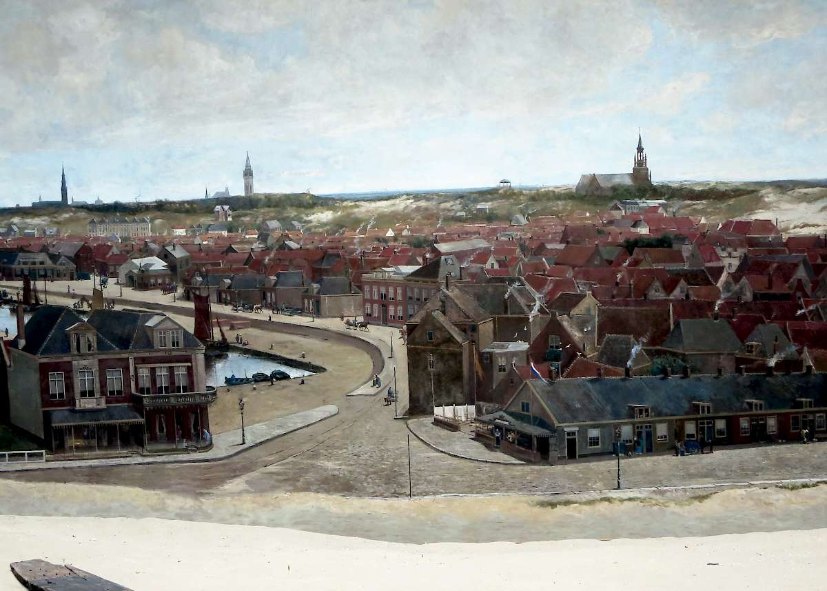 Painting by Mesdag