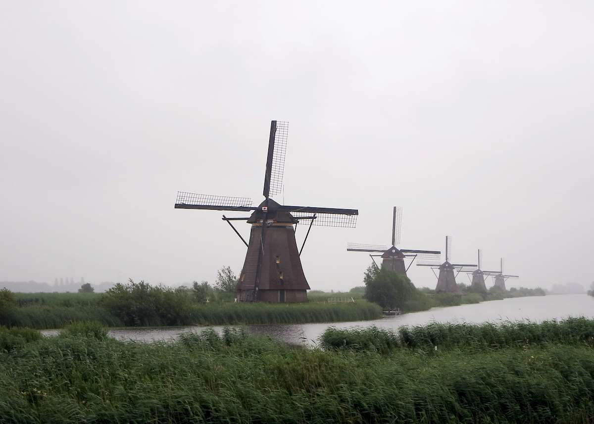 Winmills in Holland