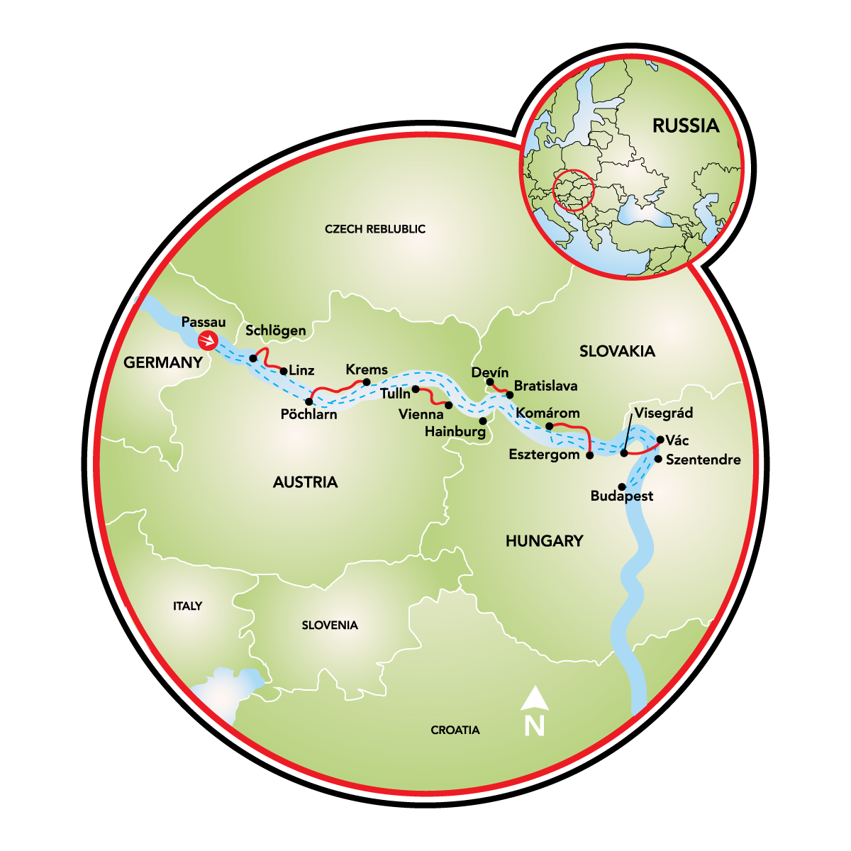 Danube Bike And Boat Tours