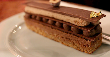 So many famous chocolate tortes in Vienna, Austria. Photo via Flickr:Danny Huizinga