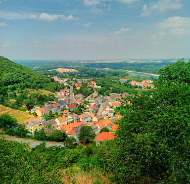Hainburg in Lower Austria along the Danube River. Photo via Flickr:faxepl