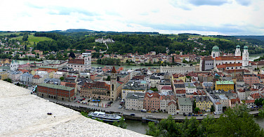 Along the Danube in Passau, Germany. Photo via Flickr:Brian Burger