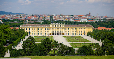 Bike rest in Schönbrunn Palace, Vienna, Austria. Photo via Flickr:Kurt Bauschardt