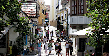 Szentendre along the Danube in Hungary. Photo via Flickr:Rego Korosi