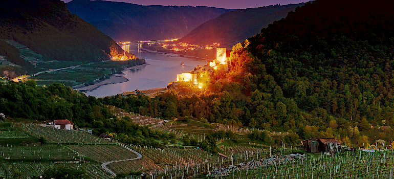 Danube River through the Wachau Valley, Lower Austria. Photo via Flickr:Tom Walk