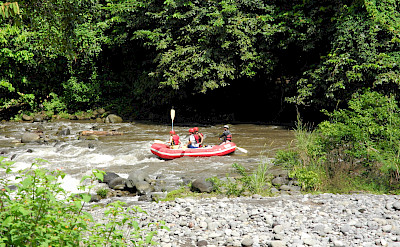 Water-rafting on Rio Sarspiqui, Costa Rica. Photo via Flickr:m.prinke