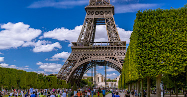 Eiffel Tower is a must in Paris, France. Photo via Flickr:Tommie Hansen