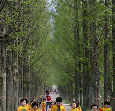 Running children in Naju, South Korea. Photo via Flickr:Republic of Korea