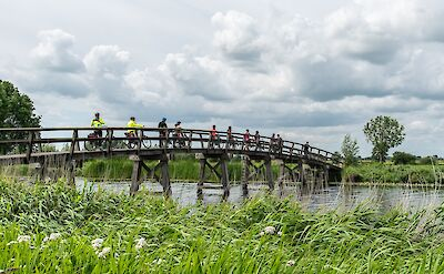 Biking the flatlands of Holland! ©TO