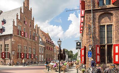 Awesome small towns to explore like Doesburg, a Hanseatic Town in the Netherlands! ©TO