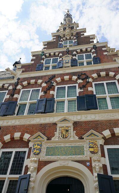 Great architecture in Franeker in Friesland, the Netherlands. Flickr:bertknot