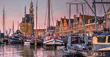 Harbor in Hoorn in North Holland, the Netherlands. Flickr:bk