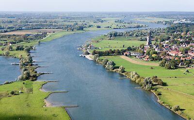 Rhenen along the Rhine River in Utrecht, the Netherlands. CC:Joop van Houdt