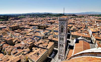 View from the Duomo, Florence, Tuscany, Italy. Flickr:Artur Staszewski
