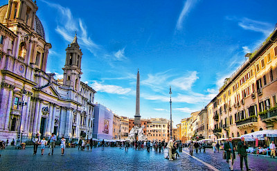 Art, culture, history collide in the Eternal City of Rome, Italy. lickr:Nick Kenrick