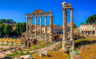 The famous ruins of Rome, Italy. Flickr:Jiuguang Wang