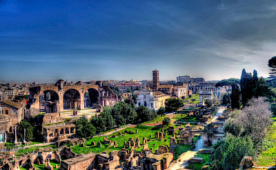 Ruins in Rome, Italy. Flickr:alainlm