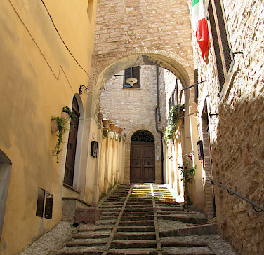 Spello in the region of Umbria, Italy. Photo via Flickr:christopherjohnssf