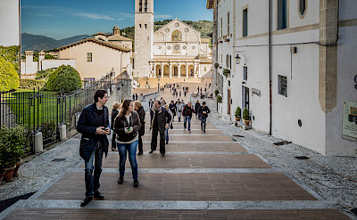 Spoleto at the foothills of the Apennines in Perugia, Umbria, Italy. Flickr:N i c o l a
