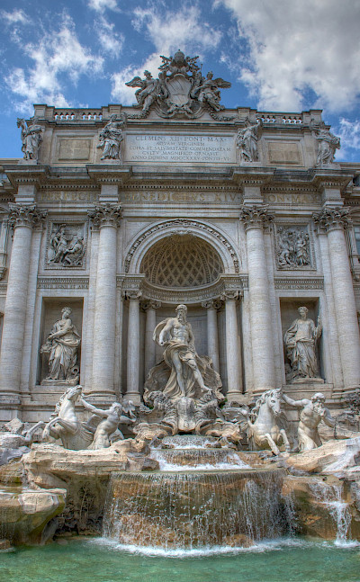 Trevi Fountain in Rome, Italy. Flickr:Ed Coyle