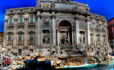 Trevi Fountain in Rome, Italy. Flickr:alainlm