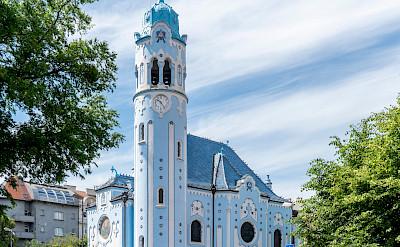 Beautiful churches in Bratislava, Slovakia. CC:Thomas Ledl