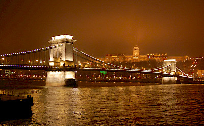 Chain Bridge in Budapest, Hungary. Flickr:ohhenry415