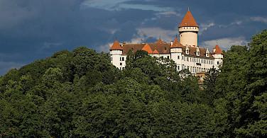 Another great castle in Konopiste, Czech Republic. Photo via Flickr:Marek Prokop