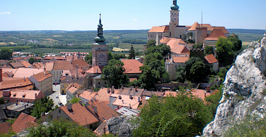 Landscape of Mikulov, Czech Republic. Photo via Wikimedia Commons:RomanM82