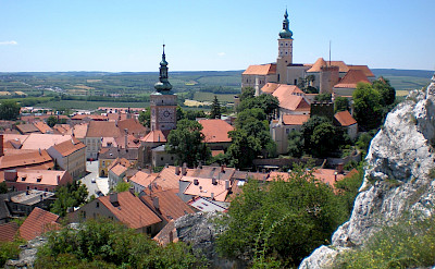 Landscape of Mikulov, Czech Republic. CC:RomanM82