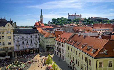 Old Town in the capital Bratislava, Slovakia. CC:Rob Hurson