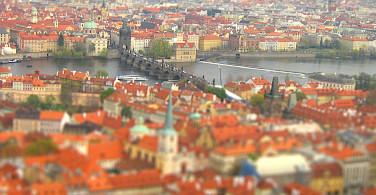 Prague's characteristic orange roofs. Photo via Flickr:Bjørn Giesenbauer
