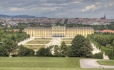 Schönbrunn Castle in all its splendor! Vienna, Austria. Flickr:Max Pfandl