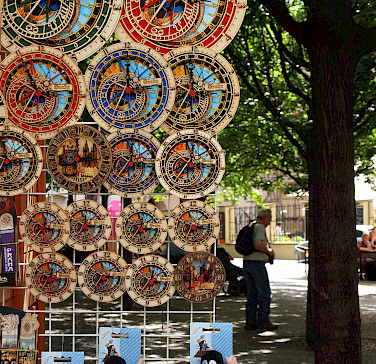 Astronomical Clock souvenirs in the Czech Republic. Photo via Flickr:leo gonzales