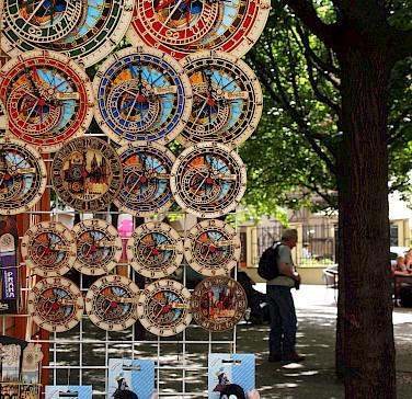 Astronomical Clock souvenirs in the Czech Republic. Photo via Flickr:leo gonzales
