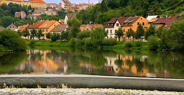 Along the Lužnice River in Tábor, Czech Republic. Photo via Flickr:Marko Cvejic