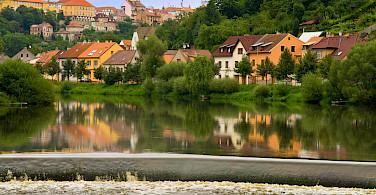 Along the Lužnice River in Tábor, Czech Republic. Photo via Flickr:Marko Cvejic
