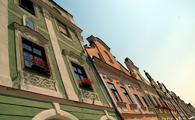 Gorgeous 16th century homes in Telc, Czech Republic. Flickr:Donald Judge