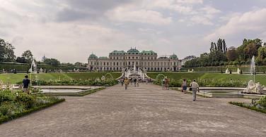 Belvedere Castle & Gardens, Vienna, Austria. Photo via Flickr:Miguel Mendez
