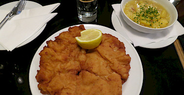 Schnitzel in Vienna! Photo via Flickr:Alper Cugun