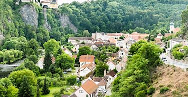 Schloss Frain in Vranov nad Dyji, Czech Republic. Photo via Flickr:Ebs Els