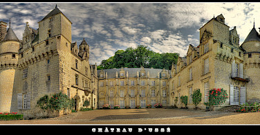 Château d'Usse along the Chinon forest in the Indre Valley, France. Photo via Flickr:@ lain G