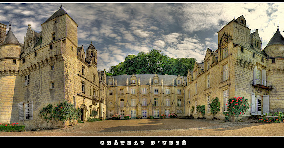 Château d'Usse along the Chinon forest in the Indre Valley, France. Flickr:@lain G
